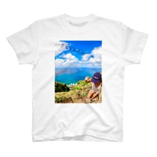 ハワイ絶景ALOHA T-shirts