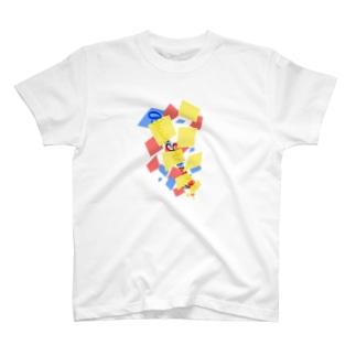 おてもとにたかとものブレスト T-shirts