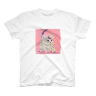 萌獣 猫 ユニャコーン/ゆにゃんこ:アポロ T-shirts