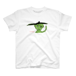 小学2年生はーさんが描いた「KAPPA」 T-shirts