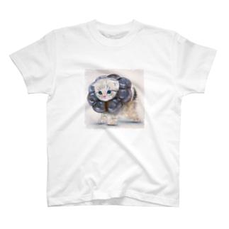萌獣 猫 ポンデニャイオン:ショコラ T-shirts