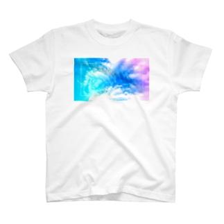 六芒星スカイ T-Shirt