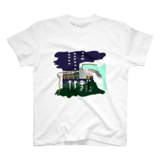 夜道(Tシャツ) T-shirts