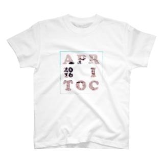 夏、アプリコット T-shirts