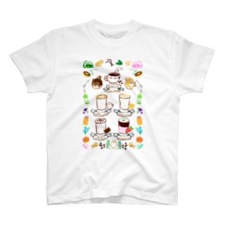 柴犬のカフェ T-shirts