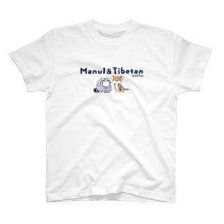 マヌルネコ&チベットスナギツネ T-shirts