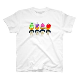 フルーツ T-shirts