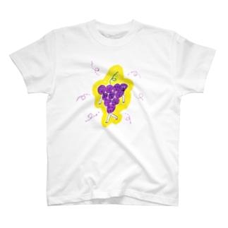 ぶどうのアパート T-shirts