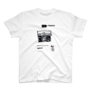 1980ラジカセ T-shirts