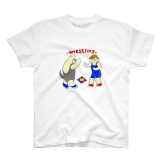 レスリング T-shirts