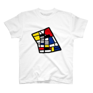 Map-Shinjuku-2 T-shirts