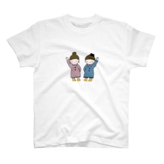 おんがくだいすき♯ちゃんと♭くん T-shirts