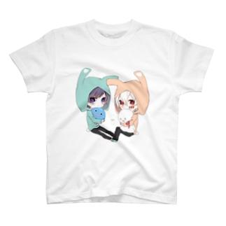 うさぎみみ? T-shirts