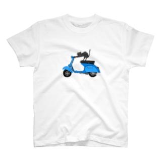 ベスパ猫 T-Shirt