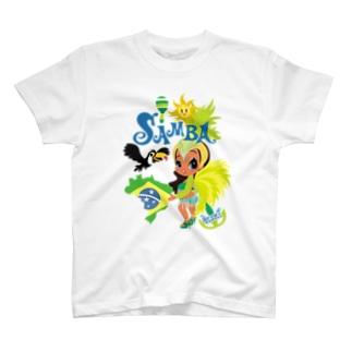 FOXY COLORSのI LOVE SAMBA! アイラブ・サンバ! T-Shirt