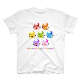 レインボーフルーツちらみん。 T-shirts