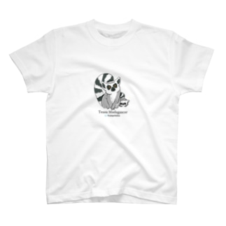 EcologyOnlineのワオキツネザル T-shirts