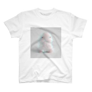 ぱいせー台湾商店のGLITCHな小丁丁 T-shirts