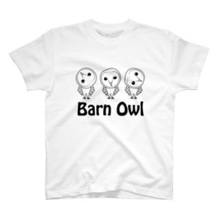 メンフクロウさん T-shirts