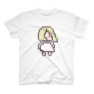 冷蔵庫の少女 T-shirts