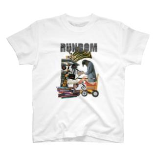 黒鳥のワルツ rundom ver. T-shirts