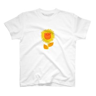ひまわりポメ T-shirts