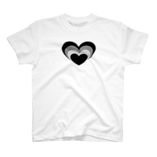 Mamolllluのロックオンブラック T-shirts