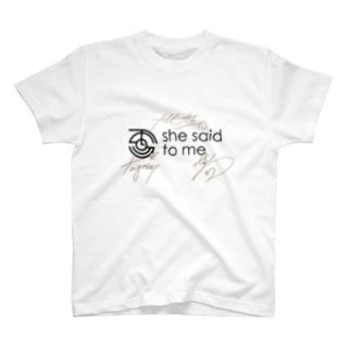 サインTシャツ【数量限定】 T-shirts
