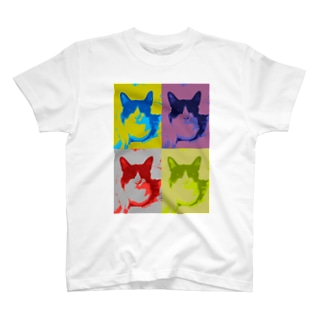 猫のハチワレハチくん 1 T-shirts
