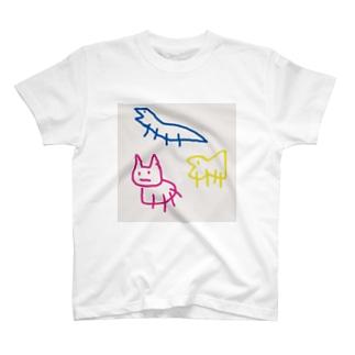 ジローの愉快な仲間たち T-shirts