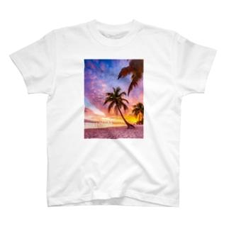 サンセットシリーズ T-shirts