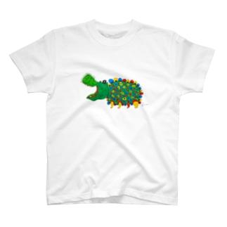 幸せそうなカバ T-shirts