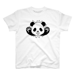 🐼貫通パンダ T-shirts