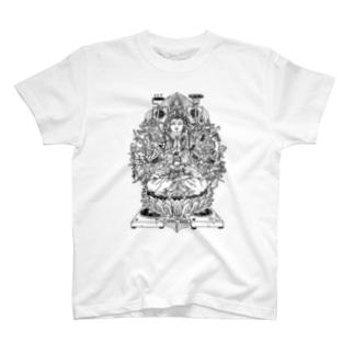 +ハードコア観音Tシャツ T-shirts