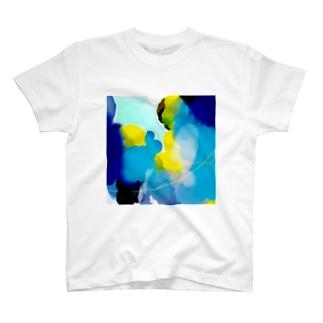 海クラゲ T-shirts