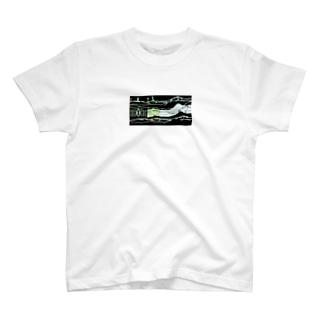 I/M/T/K/M スキー場お土産 T-shirts