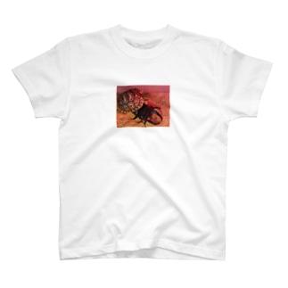 ヒョウモンリクガメのジョニー T-shirts