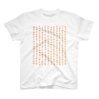 モールス(橙) T-shirts
