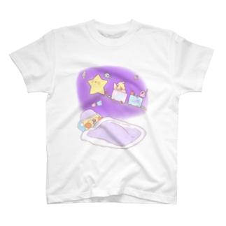 おやすみオカメインコさん T-shirts