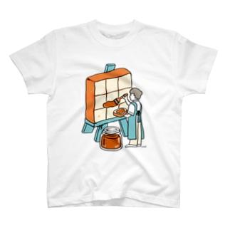ジャム塗り職人 T-shirts