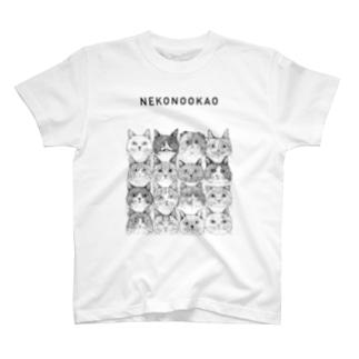 第7回同窓会/NEKONOOKAO/16CATS T-shirts