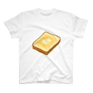とけねこ トースト T-shirts