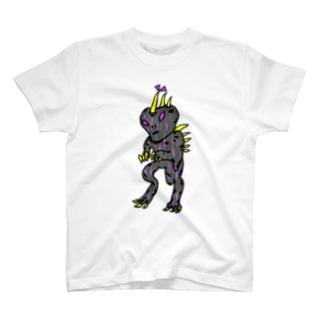 クラシカルチュパカブラTしゃつ🎵 T-shirts