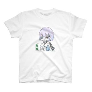お座りぬた。 T-shirts