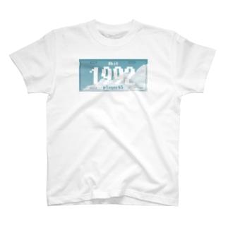 ナンバープレート【1992  Nao Kudo】 T-shirts