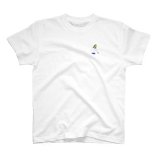 カンザシの女Tシャツ T-shirts