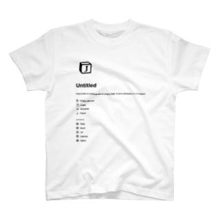 J-untitled Basic T-Shirt notion T-shirts