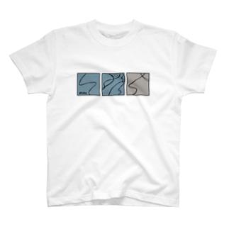 シュプール■■□(Tシャツ) T-shirts