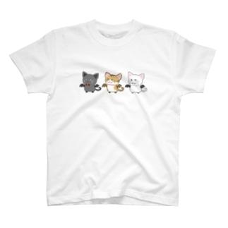 ネコウモリ T-shirts
