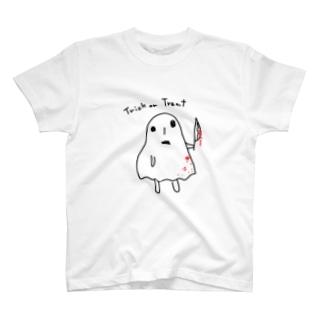 実力行使系ハロウィン T-shirts
